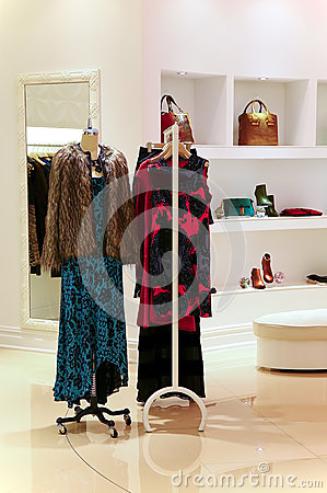 Ldies fashion clothes store