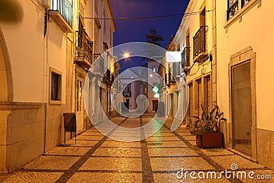 =ldstad av Tavira, Portugal