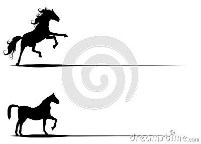 Le cheval silhouette le clipart images graphiques photo libre de droits image 10795275 - Clipart cheval ...