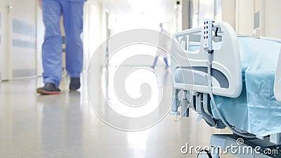 Le couloir de l'hôpital clips vidéos