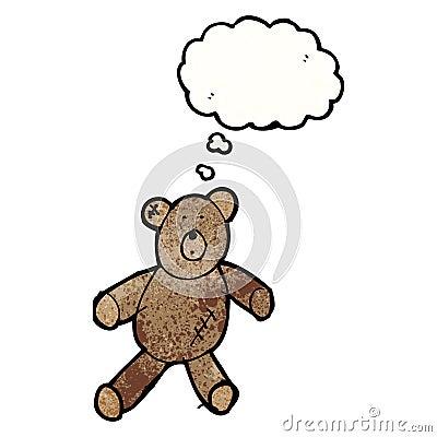 Le dessin de l 39 enfant d 39 un ours de nounours avec la bulle - Dessin d un ours ...