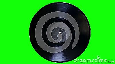Le disque vinyle tourne clips vidéos