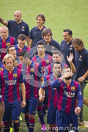 presentation de barcelone en espagnol