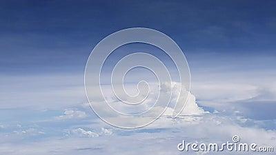 Le fond de nuages clips vidéos