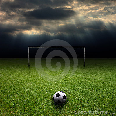Le Football 4 Photos stock - Image: 4841843