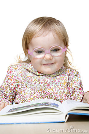 Le för bokflickaavläsning