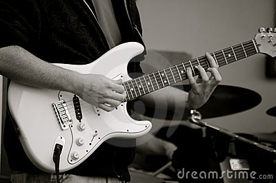 Le guitariste !