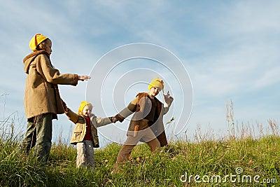 Le jaune recouvre des gnomes