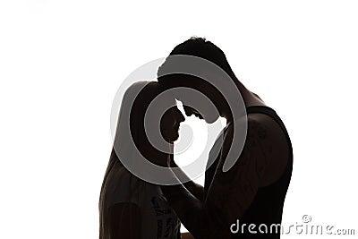 image couple sensuel noir blanc bergen