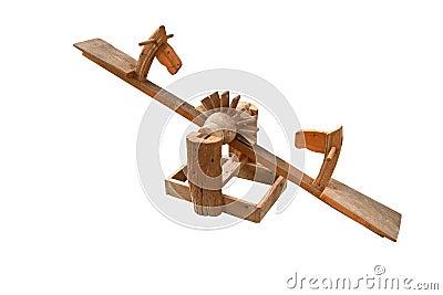 le jouet en bois de t te de cheval pour le si ge d enfants. Black Bedroom Furniture Sets. Home Design Ideas