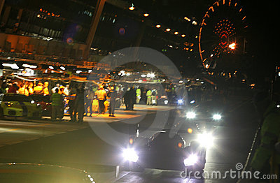 Le Mans 24h race Editorial Image