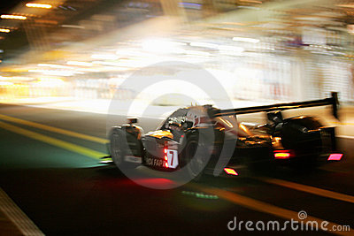 Le Mans 24H race Editorial Stock Image