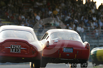 Le Mans Classic race Editorial Stock Photo