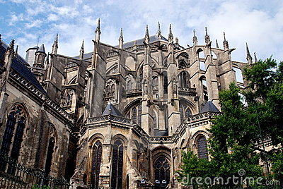 Le Mans, France: Cathédrale St. Julien