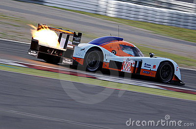 Le Mans Series race(LMS 1000km race) Editorial Photo