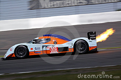 Le Mans Series race(LMS 1000km race) Editorial Stock Image