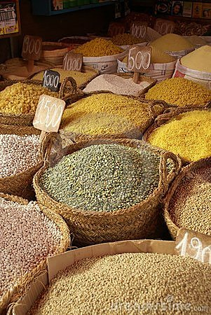 Le marché du Maroc
