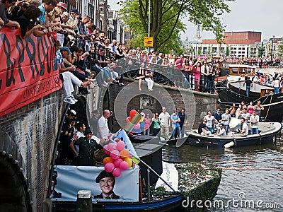Le ministère de la Défense, fierté homosexuelle 2011 Photo stock éditorial
