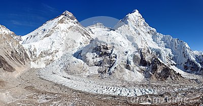 le mont everest lhotse et nuptse photo stock image 91201421. Black Bedroom Furniture Sets. Home Design Ideas