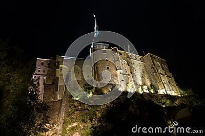 Le Mont St Michel in Normandie, France