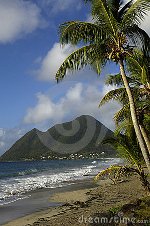 Le Morne Larcher in Martinique