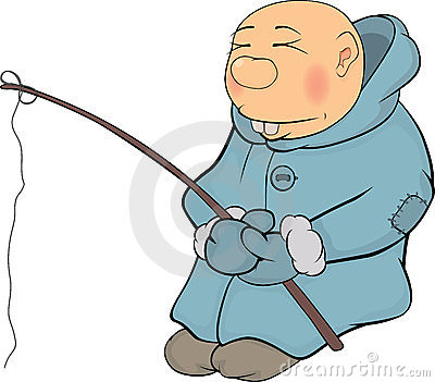 Le p cheur l 39 esquimau dessin anim photos libres de - Esquimau dessin ...
