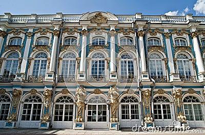 Le palais St Petersburg de Catherine de saint