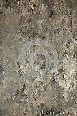 Le papier peint arrach sur un mur photo stock image for Papier peint sur un seul mur
