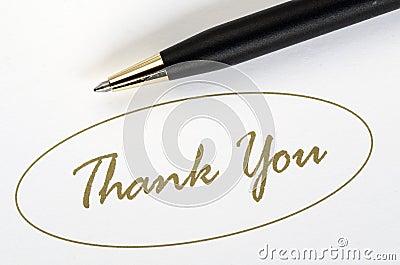 Le parole vi ringraziano