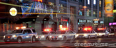 Le peloton de police ajustent parfois Image stock éditorial