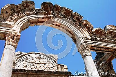 Le rovine di Ephesus Turchia