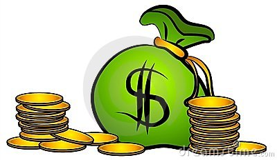 Le sac de l argent invente le clipart (images graphiques)