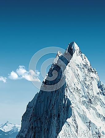 Le sommet est près