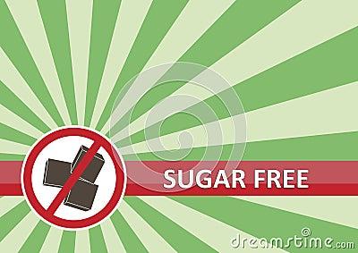 Le sucre libèrent le drapeau