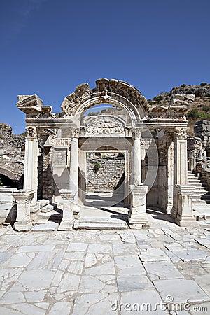 Le temple de Hadrian, Ephesus