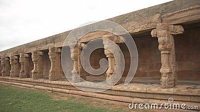 Le temple Swamy de Madhavaraya, les monuments du fort de Gandikota, Andhra Pradesh banque de vidéos