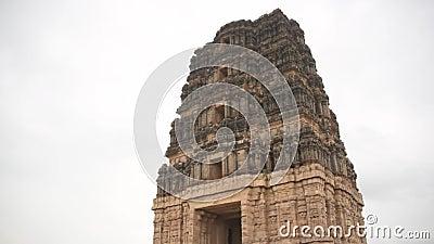 Le temple Swamy de Madhavaraya, les monuments du fort de Gandikota, Andhra Pradesh clips vidéos