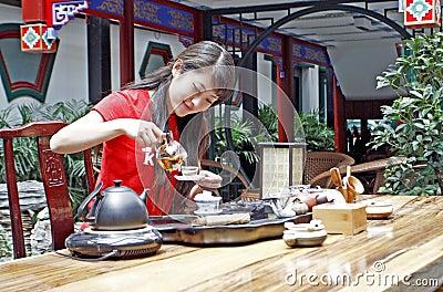 Le thé art. de la Chine.