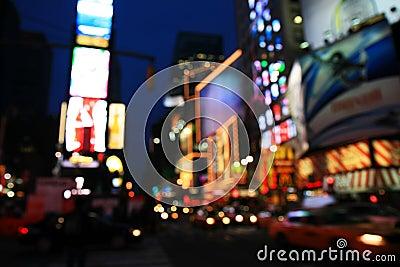 Le Times Square - effet spécial