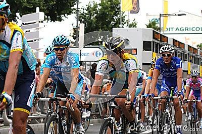 Le Tour de France 2009 - Round 4 Editorial Stock Photo