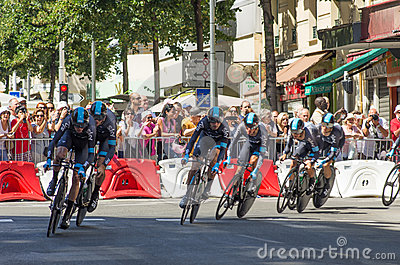 Le Tour de France 2013 - Stage Four Editorial Stock Image