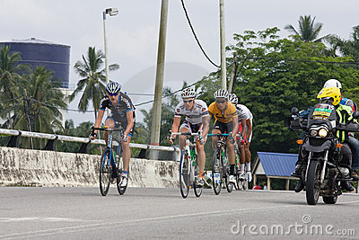 Le Tour de Langkawi 2011 stage 7 Editorial Image