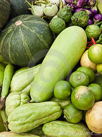 Le verdure forniscono le sostanze nutrienti.