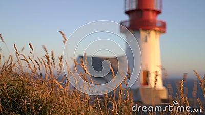 Le vieux phare de Lindesnes, fyr de Lindesnes est un phare côtier situé sur le point le plus le plus au sud de la Norvège clips vidéos