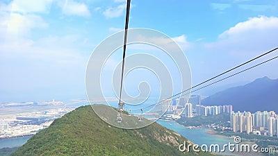 Le visionnement élevé de la voiture de Hong Kong Cable banque de vidéos