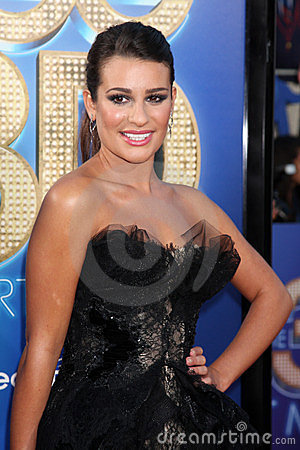 Lea Michele Editorial Stock Photo