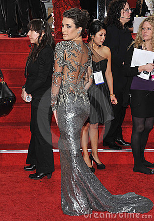 Lea Michele Editorial Image