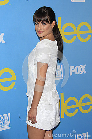 Lea Michele Editorial Photo