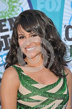 Lea Michele Editorial Photo