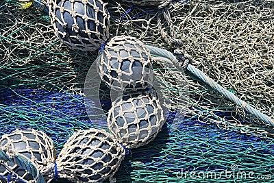 Lead balls fishing trawler net tackle